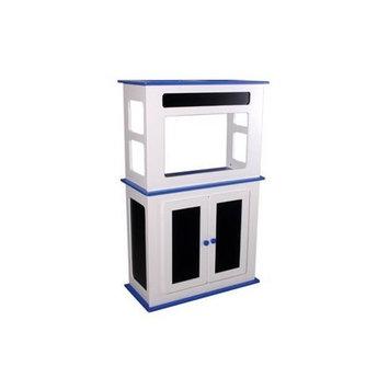 Aquatic Fundamentals 29 Gallon Chalkboard Stand