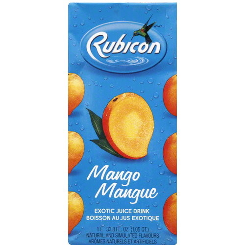Rubicon Exotic Juice Drink 33.8oz Pack of 12