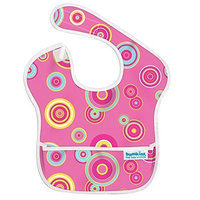 Bumkins Waterproof Superbib, Pink Fizz