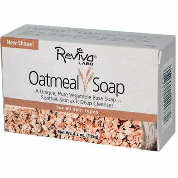 Reviva Labs Oatmeal Soap 4.5 oz
