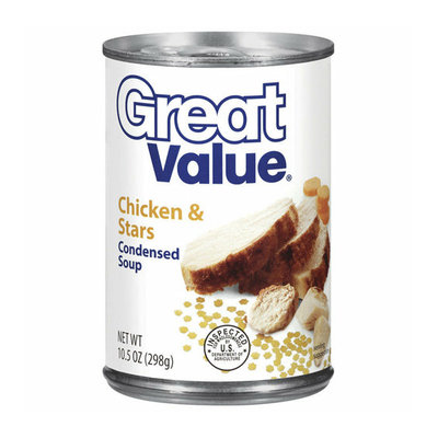 Great Value : Chicken & Stars Condensed Soup