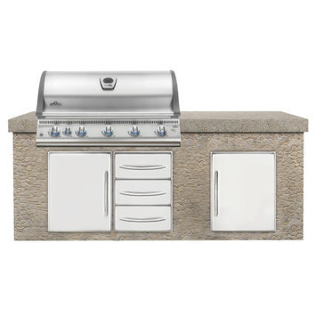 Wolf Steel Usa Napoleon BILEX730RBINSS Built-in Natural Gas Grill Head