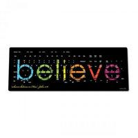 Believetek Believe Black Background Wireless Keyboard