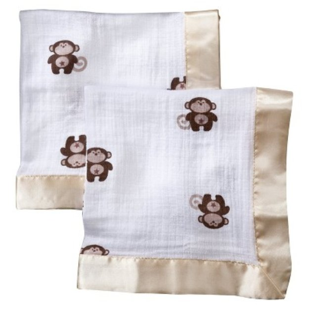 aden + anais brown caleb security blankets