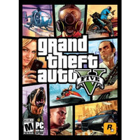 Rockstar Games Grand Theft Auto V (PC Games)