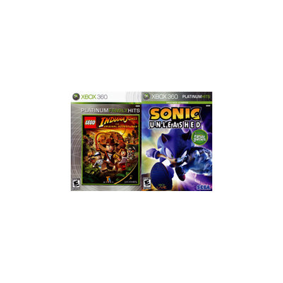 Sonic Unleashed and LEGO Indiana Jones 2Pack