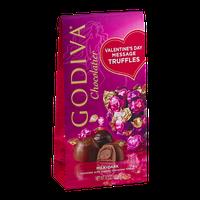 Godiva Chocolatier Valentine's Day Message Truffles Milk/Dark Chocolate