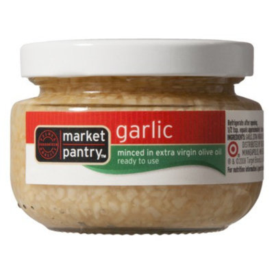 market pantry Market Pantry Minced Garlic in Extra Virgin Olive Oil 4.5-oz.