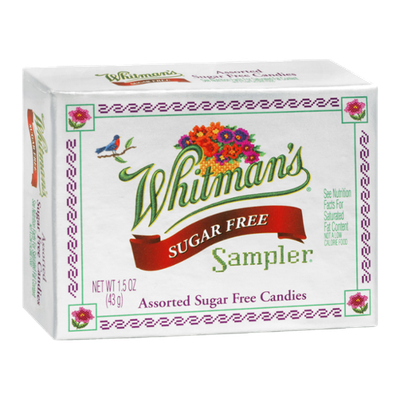 Whitman's Sampler Assorted Sugar Free Candies