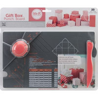 We R Memory Keepers 71334 Gift Box Punch Board