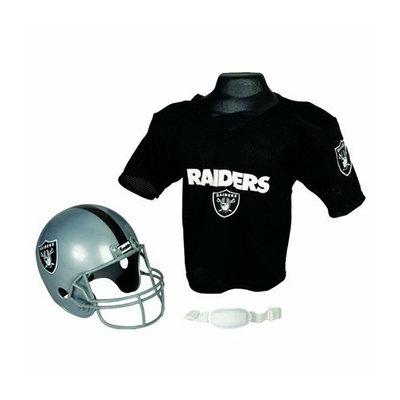 Franklin Sports NFL Raiders Helmet/Jersey set- OSFM ages 5-9