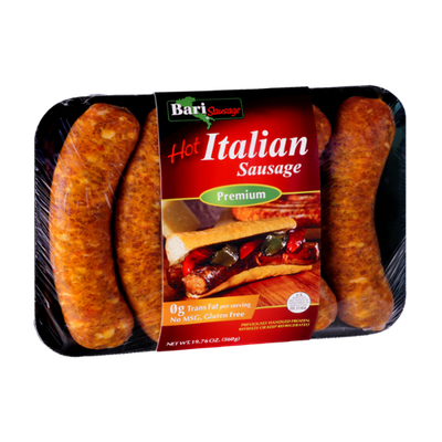 Bari Sausage Hot Italian Premium Sausage