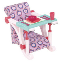 Our Generation Clip-on Chair (Lilac Apples)