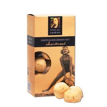 Byron Bay Cookies, Lemon Macadamia Shortbread, 4.23 Ounce Boxes (Pack of 6)
