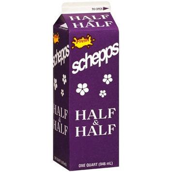 Schepps Fresh Half & Half, 1 qt