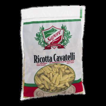 Sapore Fine Gourmet Pasta Ricotta Cavatelli