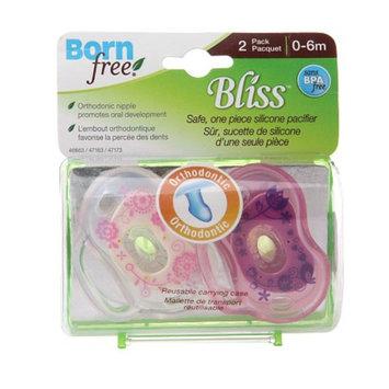 BornFree Bliss Orthodontic Pacifier 0-6M