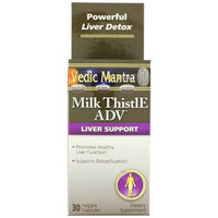 Vedic Mantra Milk Thistie Nutrition Supplement, 30 Count