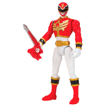Bandai Power Rangers Deluxe Special Effects Action Figure - Mega Red