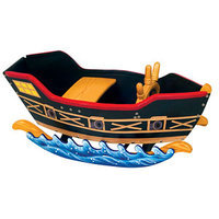 Guidecraft Retro Rocker Pirate Ship