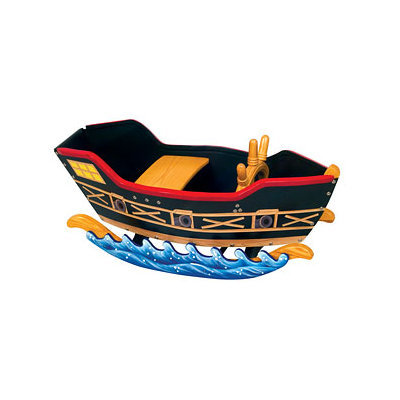 Guidecraft Retro Rocker Pirate Ship