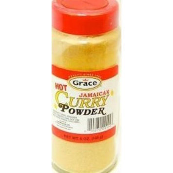 Grace Hot Jamaican Curry Powder, 2oz