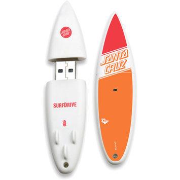 EP Memory Action Sport Drives Santa Cruz: Logo Fade 16GB SurfDrive USB 2.0 Flash Drive