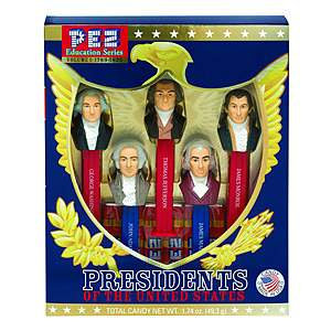 PEZ Education Series: Presidents of the United States
