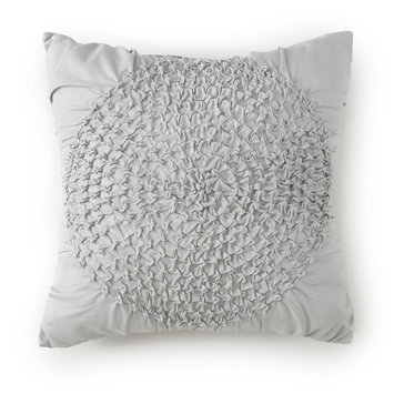 Levtex Baby Willow Ruche Pillow - Gray