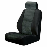 Auto-Expressions Fairfield 2-pk. Low Back Bucket Seat Cover - Black