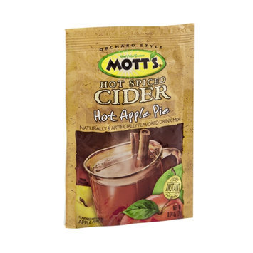 Mott's Hot Spiced Cider Hot Apple Pie Flavored Drink Mix