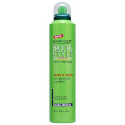 Garnier Fructis Sleek & Shine Hairspray - Ultra Strong, 8.25 oz