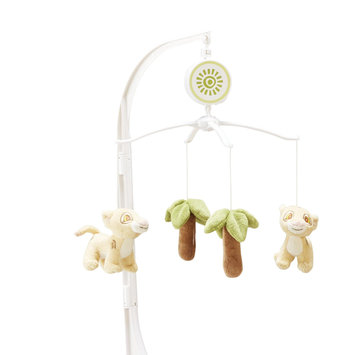 Crown Crafts Infant Products, Inc. Disney Baby Infant's Musical Mobile Urban Jungle - CROWN CRAFTS INFANT PRODUCTS, INC.