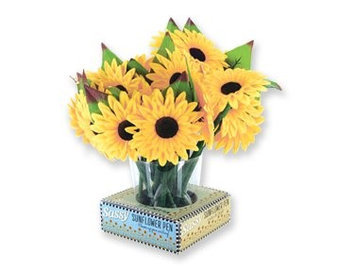 Bulk Buys DDI 1225581 Sassy Sunflower Pen Case Of 72