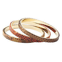a.v. max 3Pc Python Bangle Set