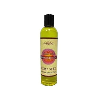 Earthly Body Massage and Body Oil, High Tide, 8 Ounce