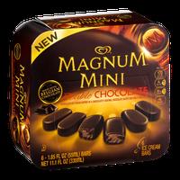 Magnum Mini Double Chocolate Ice Cream Bars - 6 CT