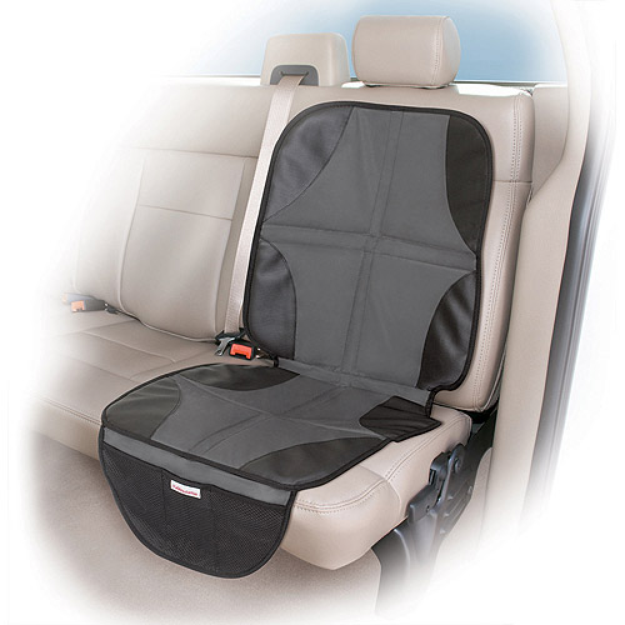 Summer Infant DuoMat 2-in-1 Car Seat Mat - Black/ Gray