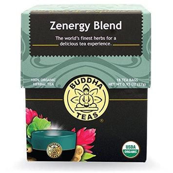 Zenergy Blend Tea Buddha Teas 18 Bags Box