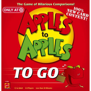 Apples To Apples On The Go