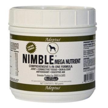 Adeptus Nutrition 20208 Nimble Mega Nutrient For Pets 1.5 lbs.