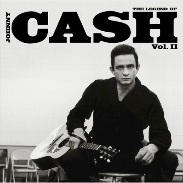 Island Records usa The Legend of Johnny Cash, Vol. 2