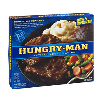 Hungry-Man Meatloaf Home-Style
