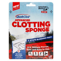 QuikClot Advanced Clotting Sponge, 5 x 5 Inch, 1 ea