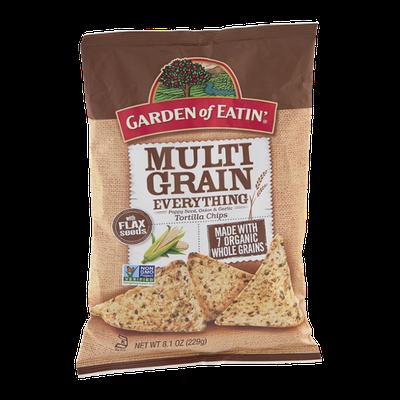 Garden of Eatin' Tortilla Chips Multi Grain Everything
