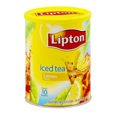 Lipton Iced Tea Mix Lemon