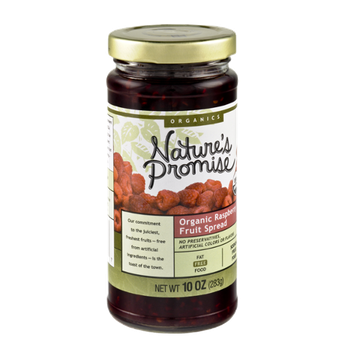 Nature's Promise Organics Organic Raspberry Fruit Spread