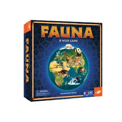 FoxMind Games Fauna Ages 8+, 1 ea