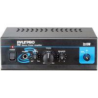 PylePro PYLE PRO PTA1 Mini Stereo Power Amplifier 15W X 2