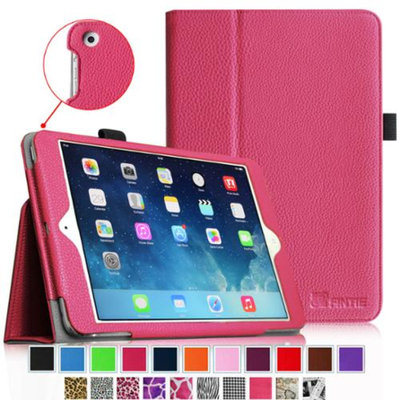 Fintie Folio Slim-Fit Case Cover for Apple iPad Mini 2 with Retina Display (2013) & Mini (2012), Magenta